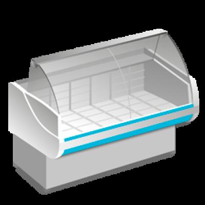 Низкотемпературные холодильные витрины