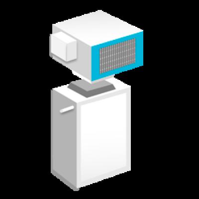 Среднетемпературные сплит-системы холодильные