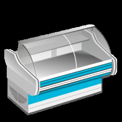 Среднетемпературные холодильные витрины